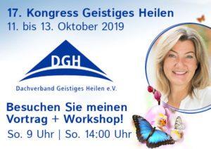 Lara'Marie Obermaier auf dem DGH Kongress 2019